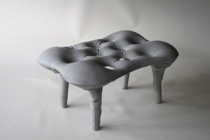 soft molded bench
